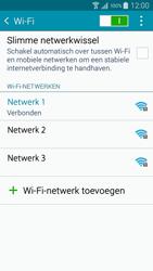 Samsung A500FU Galaxy A5 - WiFi - Handmatig instellen - Stap 8