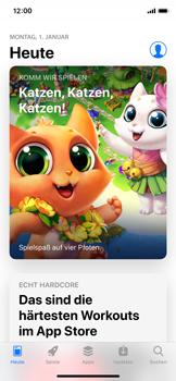 Apple iPhone XS - Apps - Nach App-Updates suchen - Schritt 4