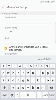 Samsung G928F Galaxy S6 edge+ - Android M - E-Mail - Konto einrichten - Schritt 12