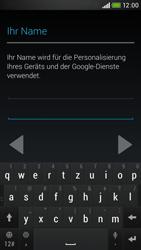 HTC Desire 601 - Apps - Konto anlegen und einrichten - 6 / 24