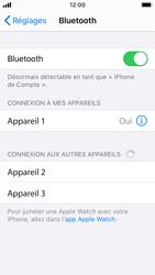 Apple iPhone SE - iOS 13 - Bluetooth - Jumelage d