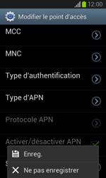 Samsung I8260 Galaxy Core - MMS - Configuration manuelle - Étape 14