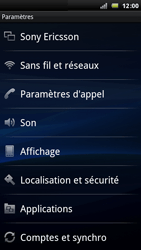 Sony Xperia Arc - Internet - Configuration manuelle - Étape 4