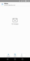 Huawei Y5 (2018) - E-mail - Manual configuration (yahoo) - Step 4