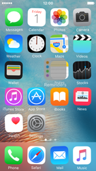 Apple iPhone SE - Getting started - Personalising your Start screen - Step 4