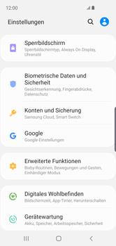 Samsung Galaxy S10e - Startanleitung - So aktivieren Sie eine SIM-PIN - Schritt 4