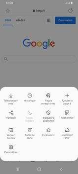 Samsung Galaxy A42 5G - Internet et connexion - Naviguer sur internet - Étape 9