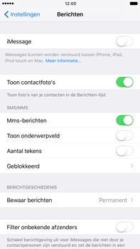 Apple Apple iPhone 6 Plus iOS 10 - iOS features - Stuur een iMessage - Stap 4