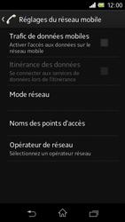 Sony C1905 Xperia M - Internet - activer ou désactiver - Étape 7