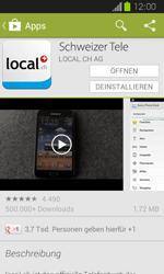 Samsung Galaxy Express - Apps - Installieren von Apps - Schritt 9