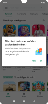 Xiaomi RedMi Note 7 - Apps - Installieren von Apps - Schritt 3