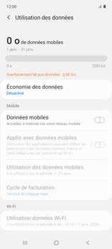Samsung Galaxy A51 5G - Internet et connexion - Désactiver la connexion Internet - Étape 7