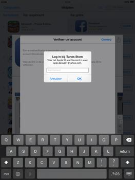Apple iPad 2 iOS 8 - Applicaties - Account aanmaken - Stap 24