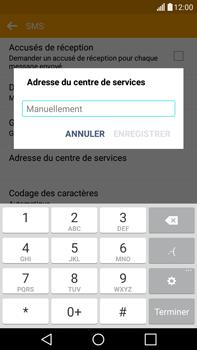 LG H365 G4 Stylus - SMS - configuration manuelle - Étape 8