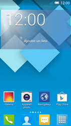 Alcatel OT-5036X Pop C5 - Messagerie vocale - configuration manuelle - Étape 1