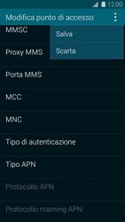 Samsung Galaxy S 5 - MMS - Configurazione manuale - Fase 15