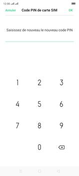 Oppo Reno 2 - Sécuriser votre mobile - Personnaliser le code PIN de votre carte SIM - Étape 13
