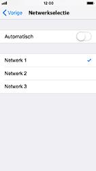Apple iPhone SE - iOS 12 - Netwerk - Handmatig een netwerk selecteren - Stap 7