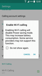 Samsung Galaxy S 5 - WiFi - Enable WiFi Calling - Step 7