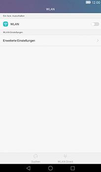 Huawei MediaPad T1 (7.0) - WLAN - Manuelle Konfiguration - Schritt 4
