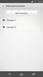 Sony Xperia Z3 Compact 4G (D5803) - Contacten en data - Contacten kopiëren van SIM naar toestel - Stap 7
