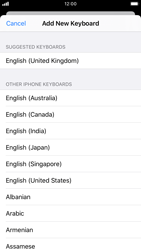 Apple iPhone 6s - iOS 13 - Getting started - How to add a keyboard language - Step 7
