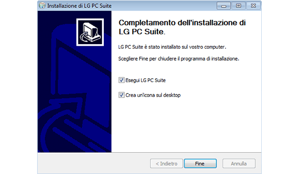LG G3 - Software - Installazione del software di sincronizzazione PC - Fase 10