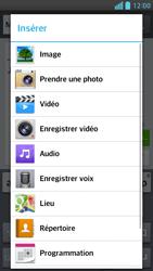 LG Optimus F6 - Contact, Appels, SMS/MMS - Envoyer un MMS - Étape 13