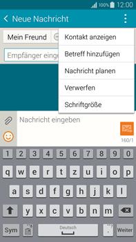 Samsung N910F Galaxy Note 4 - MMS - Erstellen und senden - Schritt 13