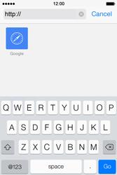 Apple iPhone 4 S iOS 7 - Internet - Internet browsing - Step 11