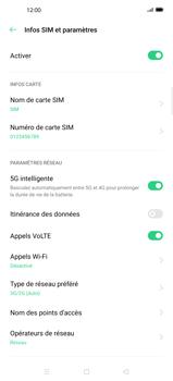 Oppo Find X2 Pro - Internet et connexion - Activer la 4G - Étape 6