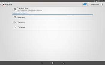 Sony Xperia Tablet Z2 (SGP521) - Bluetooth - koppelen met ander apparaat - Stap 8