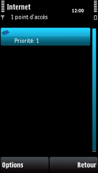 Nokia X6-00 - Internet - configuration manuelle - Étape 14