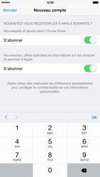 Apple iPhone 6 Plus - Applications - Créer un compte - Étape 17