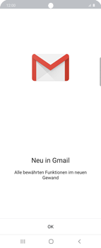 Samsung Galaxy Z flip - E-Mail - 032b. Email wizard - Yahoo - Schritt 5