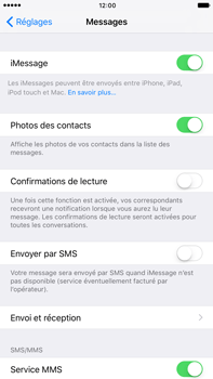 Apple Apple iPhone 6 Plus iOS 10 - iOS features - Envoyer un iMessage - Étape 5