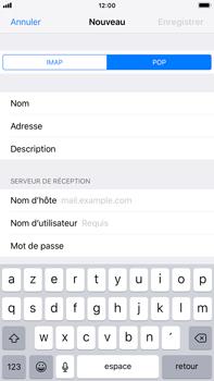 Apple iPhone 8 Plus - iOS 12 - E-mail - Configuration manuelle - Étape 12