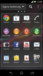 Sony Xperia L - E-Mail - E-Mail versenden - Schritt 3