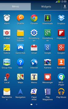 Samsung Galaxy Tab 3 8-0 LTE - Internet und Datenroaming - Prüfen, ob Datenkonnektivität aktiviert ist - Schritt 3