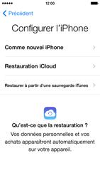 Apple iPhone 5 - Premiers pas - Créer un compte - Étape 9