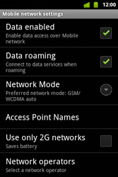 Alcatel OT-983 - Internet and data roaming - disabling data roaming - Step 6