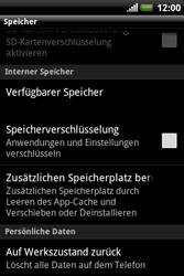 HTC Explorer - Fehlerbehebung - Handy zurücksetzen - 7 / 10