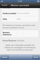 Apple iPhone 3GS - Applicazioni - Configurazione del negozio applicazioni - Fase 15