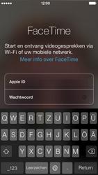 Apple iPhone 5 - Applicaties - FaceTime gebruiken - Stap 5