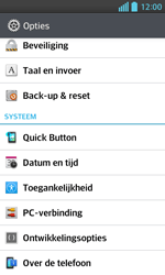 LG E460 Optimus L5 II - toestel resetten - fabrieksinstellingen terugzetten - stap 4