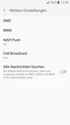 Samsung Galaxy J5 (2016) - SMS - Manuelle Konfiguration - 8 / 12