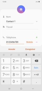 Samsung Galaxy A50 - Contact, Appels, SMS/MMS - Ajouter un contact - Étape 8