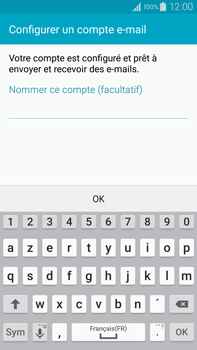 Samsung Galaxy Note 4 - E-mail - 032c. Email wizard - Outlook - Étape 10