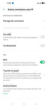 Oppo Reno 4 Pro - Internet et connexion - Utiliser le mode modem par USB - Étape 7