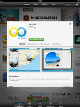 Apple iPad Retina - Apps - Einrichten des App Stores - Schritt 6
